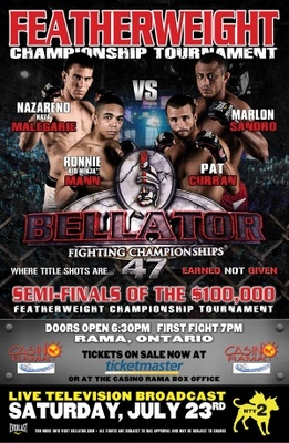Bellator Fighting Championships movie poster (2009) poster MOV_71a909d2