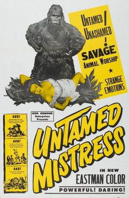 Untamed Mistress movie poster (1956) poster MOV_71cb6628