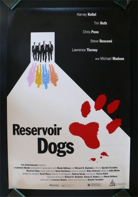 Reservoir Dogs movie poster (1992) poster MOV_71cc77d9