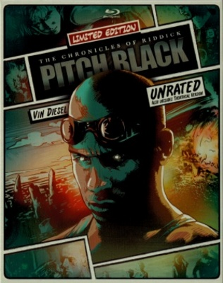 Pitch Black movie poster (2000) poster MOV_71cc831a