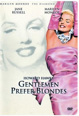 Gentlemen Prefer Blondes movie poster (1953) poster MOV_71d2e9dc