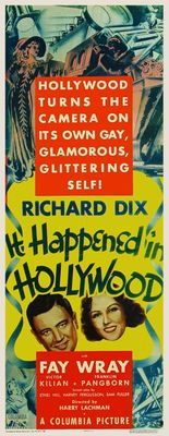It Happened in Hollywood movie poster (1931) poster MOV_72095be5