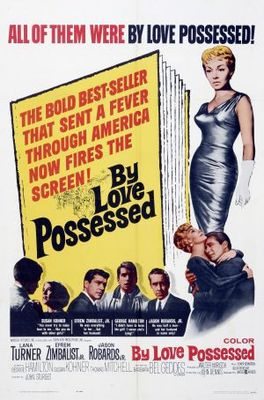 By Love Possessed movie poster (1961) poster MOV_72176052