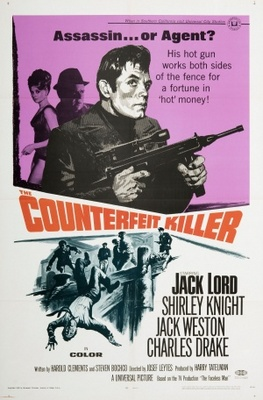 The Counterfeit Killer movie poster (1968) poster MOV_72226c83