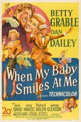 When My Baby Smiles at Me movie poster (1948) poster MOV_7224b3ed