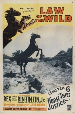 Law of the Wild movie poster (1934) poster MOV_72416026