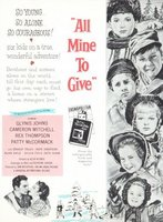 All Mine to Give movie poster (1957) picture MOV_724363ec