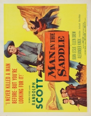 Man in the Saddle movie poster (1951) poster MOV_7244e3e9