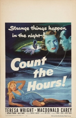 Count the Hours movie poster (1953) poster MOV_724a0378