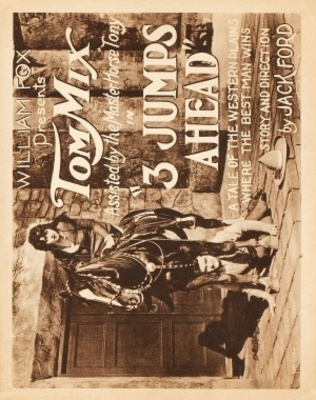 Three Jumps Ahead movie poster (1923) poster MOV_724a93c3