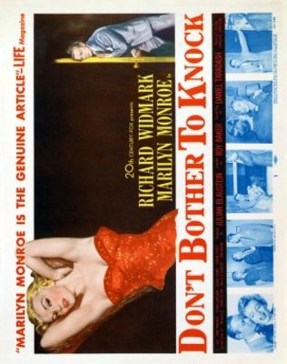 Don't Bother to Knock movie poster (1952) poster MOV_7267554c