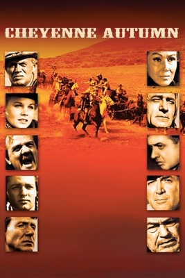 Cheyenne Autumn movie poster (1964) poster MOV_728651bc