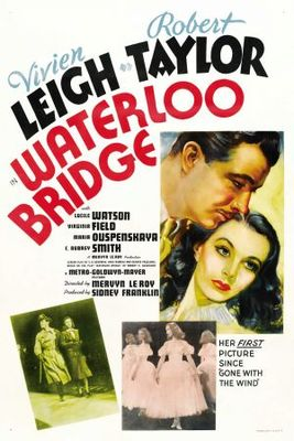 Waterloo Bridge movie poster (1940) poster MOV_728bad17