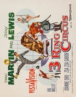 3 Ring Circus movie poster (1954) picture MOV_72912c30