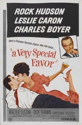 A Very Special Favor movie poster (1965) poster MOV_72953fc3
