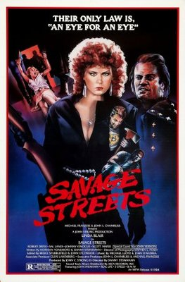 Savage Streets movie poster (1984) poster MOV_72a40618