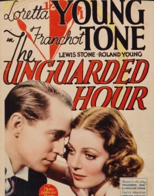 The Unguarded Hour movie poster (1936) poster MOV_72b5847b