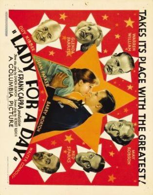 Lady for a Day movie poster (1933) poster MOV_72cced2a
