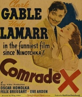 Comrade X movie poster (1940) picture MOV_72ce6bed