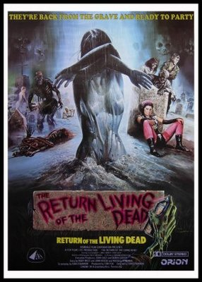 The Return of the Living Dead movie poster (1985) poster MOV_72d08d80