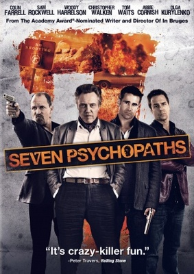 Seven Psychopaths movie poster (2012) poster MOV_72db1961