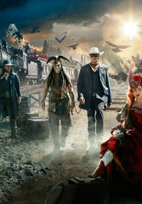 The Lone Ranger movie poster (2013) poster MOV_72e8020d