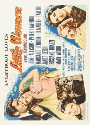 Little Women movie poster (1949) poster MOV_72e992a9