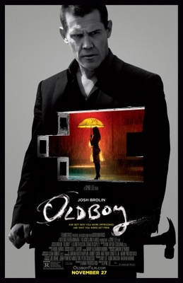 Oldboy movie poster (2013) poster MOV_72e9a673