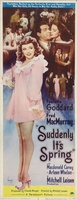 Suddenly, It's Spring movie poster (1947) picture MOV_72f3b2da