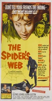 The Spider's Web movie poster (1960) poster MOV_72fdbea4