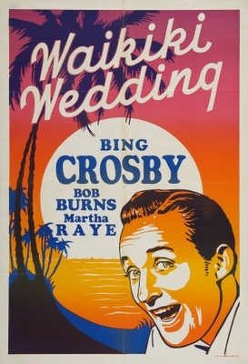 Waikiki Wedding movie poster (1937) poster MOV_72fdf7c9