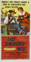 The Last Stagecoach West movie poster (1957) picture MOV_b08f225e