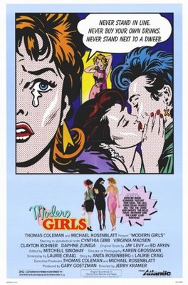 Modern Girls movie poster (1986) poster MOV_7333a34a