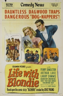 Life with Blondie movie poster (1945) poster MOV_73478862