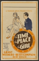 The Time, the Place and the Girl movie poster (1929) picture MOV_73479558