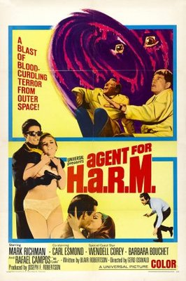 Agent for H.A.R.M. movie poster (1966) poster MOV_734ebd36