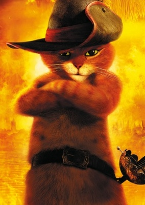 Puss in Boots movie poster (2011) poster MOV_734fb390