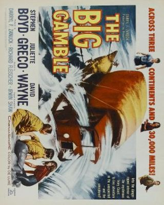 The Big Gamble movie poster (1961) poster MOV_73614f87