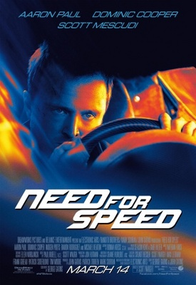 Need for Speed movie poster (2014) poster MOV_7363e497