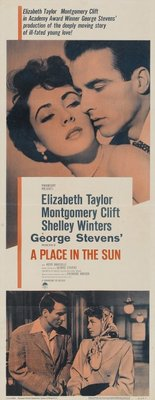 A Place in the Sun movie poster (1951) poster MOV_73641ff5