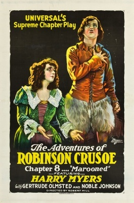 The Adventures of Robinson Crusoe movie poster (1922) poster MOV_7369adef
