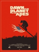 Dawn of the Planet of the Apes movie poster (2014) picture MOV_736ca309