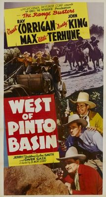 West of Pinto Basin movie poster (1940) poster MOV_73940538