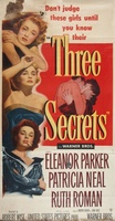 Three Secrets movie poster (1950) picture MOV_7396c988