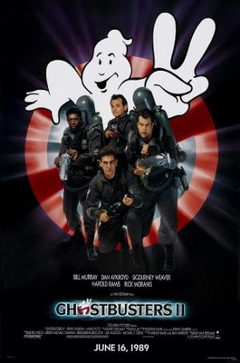 Ghostbusters II movie poster (1989) poster MOV_73b0e1f9