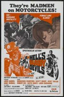 Hell's Bloody Devils movie poster (1970) picture MOV_73b6bf95