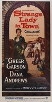 Strange Lady in Town movie poster (1955) picture MOV_28c7755b
