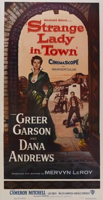 Strange Lady in Town movie poster (1955) poster MOV_73bcd983