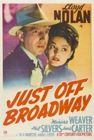 Just Off Broadway movie poster (1942) picture MOV_73bd2592