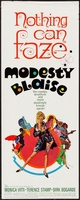 Modesty Blaise movie poster (1966) picture MOV_73c27a00